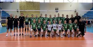 Kőnig Gábor tanítványai gőzerővel készülnek a nyíregyházi Eb-meccsekre Forrás: hunvolley.hu