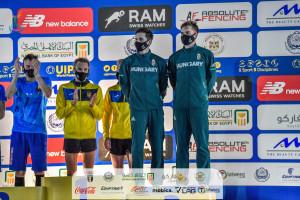 Junior vb-bronzérmes a Gáll András, Viczián Bence váltó Forrás: EMPF