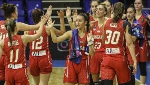 A szerbek ellen is diadalmaskodott az U20-as női válogatott Fotó: Tóth Zsombor / FIBA.basketball