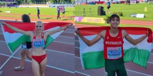 Két magyar arany Tallinnban Forrás: atletika.hu