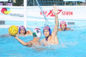Balogh Botond (2) négy gólt szerzett a nyitányon Forrás: waterpolo.hu