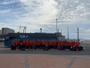 Népes magyar csapat vesz részt az U20-as Eb-n Forrás: MASZ