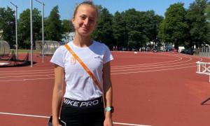 """""""Minden nappal megszépül ez az eredmény"""" – Varga Gréta az U20-as Eb-ezüstről Forrás: atletika.hu"""