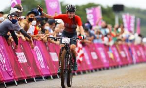 Célegyenesben az olimpián Forrás: bringasport.hu