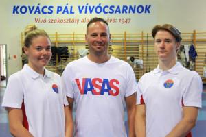 Balról: Spiesz Anna, Kósa Miklós, Vigh Benedek FOTÓ: BODROGI TAMÁS