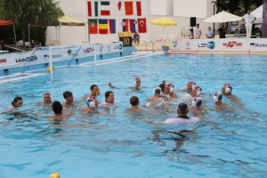 A fiúk öröme Forrás: waterpolo.hu