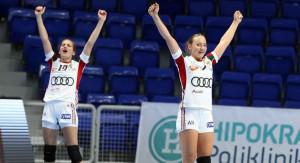 Eb-döntős az ifjúsági leányválogatott Forrás: EHF