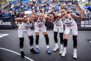 A németek legyőzésével a harmadik helyen végeztek a magyar lányok Debrecenben Forrás: FIBA.Basketball