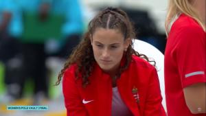 A rúdugró Garamvölgyi Petra ötödik lett az U20-as vb-n Forrás: IAAF