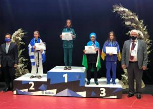 Salim Kamilah két Európa-bajnoki címet már begyűjtött Forrás: wtftaekwondo.hu