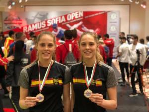 Egyformák és egyformán eredményesek a Márton ikrek Forrás: wtf.taekwondo.hu