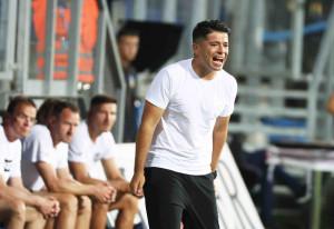 Az MTK Budapest nyáron érkezett vezetőedzője, Giovanni Costantino látja a potenciált a fiatalokban Forrás: MTK Budapest