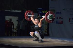 Szalai Lili három bronzérmet szerzett az U17-eseknél a 71 kg-os súlycsoportban Forrás: mssz.hu