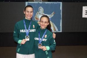 Négy ezüsttel fejezte be a magyar küldöttség a korosztályos Eb-t Forrás: Magyar Karate Szövetség