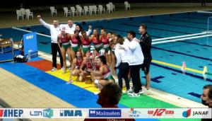 Eb-bronzérmes az U17-es leányválogatott  Forrás: LEN