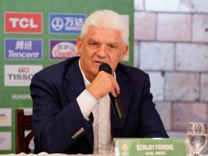 Szalay Ferenc elégedetten értékelte a minden szempontból sikeres hazai vb-t Fotó: Fogarasi Renáta / civishir.hu