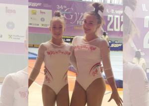 Czifra Lili (bal) és Makai Lilla Forrás: MATSZ