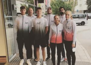 A játékosok és a szakmai stáb már a helyszínen Ljubljanában várja az U18-as Eb-t Forrás: MRSZ