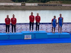 Állandóan a magyar versenyzők álltak a dobogó tetején Racicében Forrás: MKKSZ