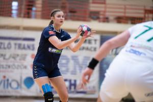 Besszer Borbála remekelt a Győr ellen Forrás: Alba Fehérvár KC