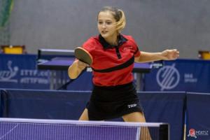 Molnár Kendra (14) nemrégiben bravúros teljesítménnyel aranyérmes lett egyesben az U19-esek mezőnyében a büki ob-n Forrás: MOATSZ