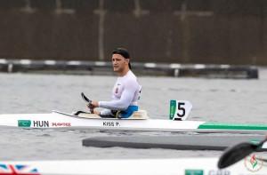Kiss Péteren az esős időjárás sem fogott ki, magabiztosan nyerte meg a paralimpiai döntőt Forrás: Magyar Paralimpiai Csapat