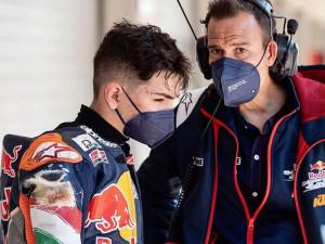 A 16 éves Görbe Soma jövőre ismét rajthoz állhat a Red Bull Rookies Cupon Forrás: Instagram, Görbe Soma