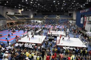 A világkupán megtelt kick-boxolókkal a BOK Csarnok Forrás: Facebook