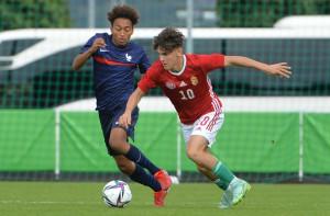 Nem bírt a franciákkal a magyar U17-es válogatott a Budaörsön rendezett felkészülési mérkőzésen Forrás: MLSZ