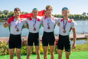 A könnyűsúlyú négypár bronzérmet szerzett a lengyelországi U23-as kontinensviadalon Forrás: MESZ