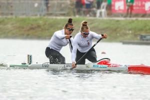 A Bragato Giada, Nagy Bianka páros már a második aranyérmét nyerte Forrás: MKKSZ
