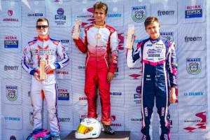 A Kecskeméten rendezett CEE-verseny harmadik helyét szerezte meg a fiatal tehetség Forrás: MOTAM
