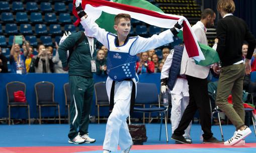 Taekwondo: a kulisszák mögött izmosodik a 14 éves Molnár Bendegúz